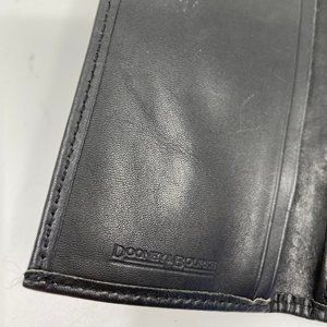 Dooney & Bourke Bags - Dooney & Bourke Gray Black Leather Wallet